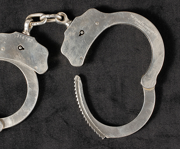 Pair of handcuffs