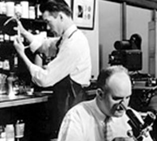 USPIS forensic laboratories from 1940s