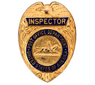 Postal Inspectors Badge