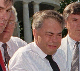 Jim Bakker being arrested by Postal Inspectors